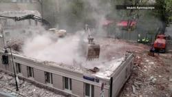 Разрушение старой Москвы