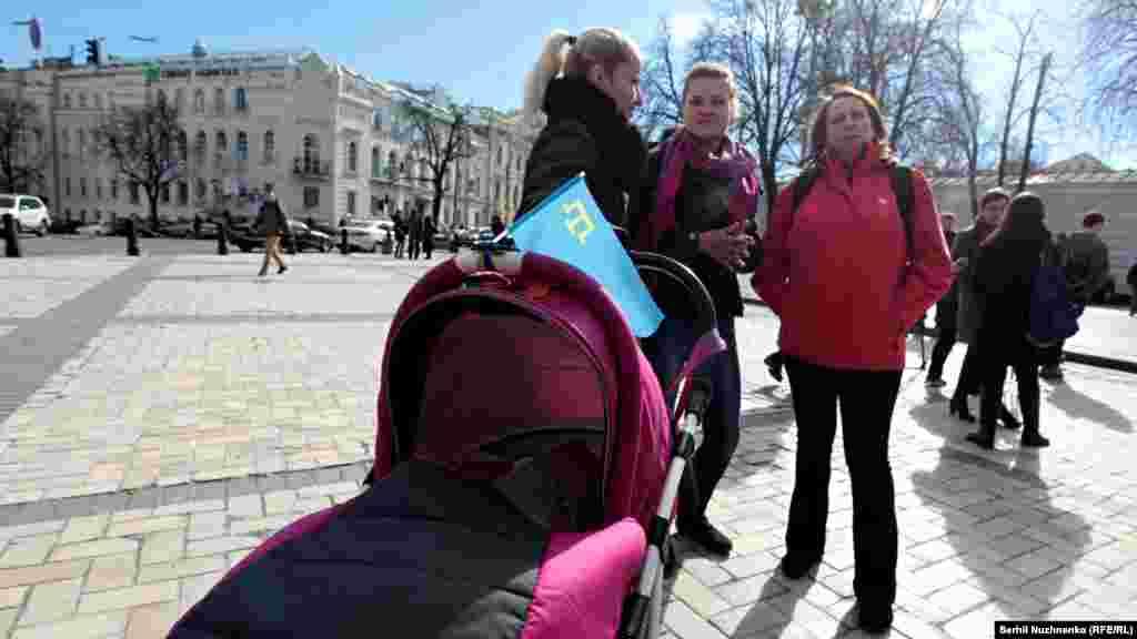 На акції були присутні й наймолодші активісти