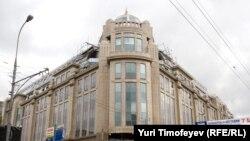Москва, реконструкция Военторга, 2008 г