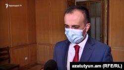 Министр здравоохранения Армении Арсен Торосян (архив)