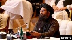 عبدالغنی برادر، رئیس دفتر سیاسی طالبان در قطر