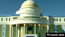 Turkmenistan -- New State University of Medicine in Ashgabat, 01Sep2010