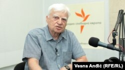 Ivan Čolović u beogradskom studiju RSE