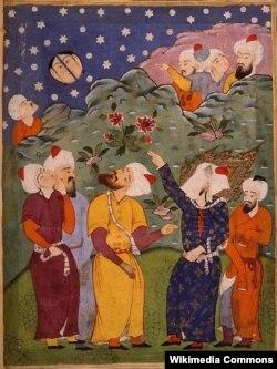 Həzrəti Məhəmməd ayı ortadan bölür