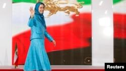 Fransa - Mucahidin-e-Xalq Təşkilatının rəhbəri Maryam Rajavi. (Arxiv)