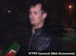 Свидетель обвинения по делу Оюба Титиева Сулиман Басханов
