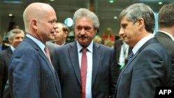 Pamje nga samiti i ministrave të jashtëm të BE-së në Bruksel.