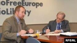 Daniel Serwer dhe James Lion në Radion Evropa e Lirë
