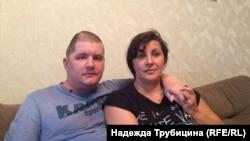 Иван с мамой