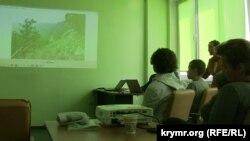 Переселенці в одному з центрів у Києві