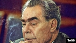 Leonid Brezhnev in July 1976
