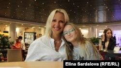 Ольга Балицька з донькою