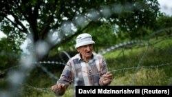 Xurvaleti kəndinin sakini, 82 yaşlı Davit Vanishvili