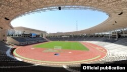 Матч состоялся на обновленном стадионе имени Тофика Бахрамова