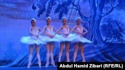 رقصة لفرقة باليه كييف الاوكرانية