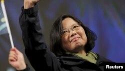 Цай Инвэнь, победившая на выборах президента Тайваня