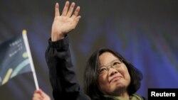 تسای اینگون در انتخابات ریاست جمهوری تایوان در اوایل سال جاری میلادی به پیروزی رسید