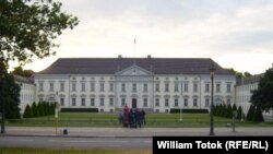 Palatul Bellevue, reşedinţa preşedintelui federal din Berlin