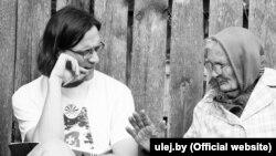 Лідэр гурту Vuraj Сяржук Доўгушаў зьбірае палескія песьні