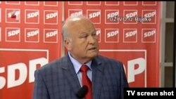 Konferencija za medije bivšeg ministra financija Slavka Linića
