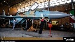 МіГ-29 ВПС Ірану під час ремонту, архівне фото