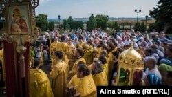 Шествие ко Дню крещения Руси, Севастополь, 28 июля 2017 года