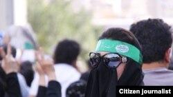 Tehranda Mirhüseyn Musəvinin tərəfdarları, 17 iyun 2009