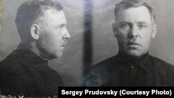 Фотография арестованного Степана Кузнецова из архива ФСБ