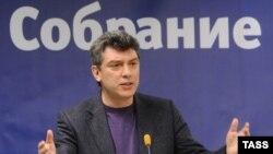 Лидер на новата опозициска партија Борис Немтсов