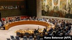 ՄԱԿ-ի Անվտանգության խորհուրդը Հյուսիսային Կորեայի նկատմամբ նոր պատժամիջոցներ է սահմանել, Նյու Յորք, 11 սեպտեմբերի, 2017թ.