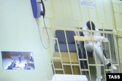 """Варвара Караулова на видеосвязи с судом из СИЗО """"Лефортово"""""""