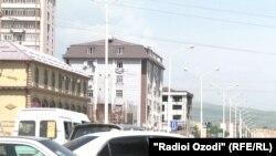Новостройки в Душанбе.