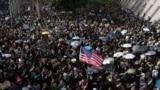Hong Kong -- Protests new wave after elections, China, 01Dec2019