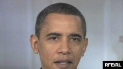 Кадр из видеообращения Барака Обамы