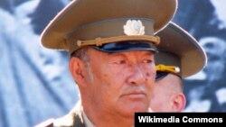 Оставкадағы әскери полковник Борис Керімбаев.