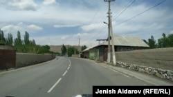 Көк-Таш айылы.