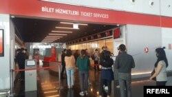 Аэропорт Стамбула. Архивное фото.
