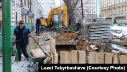 Աշխատանքային միգրանտները՝ մոսկովյան կառույցներից մեկում, արխիվ