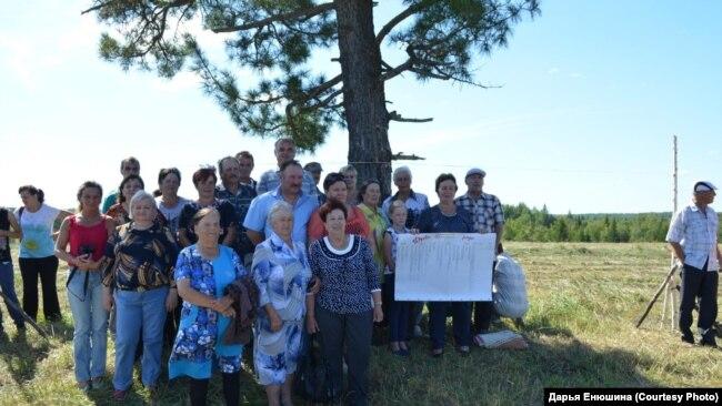 Встреча бывших жителей поселка Погино