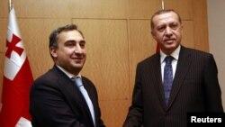 საქართველოს პრემიერ-მინისტრი ნიკა გილაური და თურქეთის პრემიერ-მინისტრი რეჯეპ ტაიპ ერდოანი