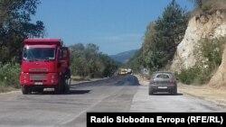 Асфалтирање на обиколницата во Битола