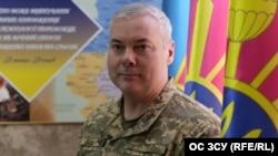 Командувач Об'єднаних сил ЗСУ Сергій Наєв