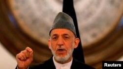 Хамид Карзай в бытность президентом Афганистана.