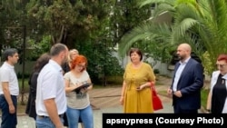 Делегация Роспотребнадзора в Абхазии