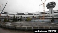"""Нацыянальны аэрапорт """"Менск"""" падчас рэканструкцыі"""