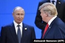Владимир Путин и Дональд Трамп на саммите G20 в Аргентине. 30 ноября 2018 года