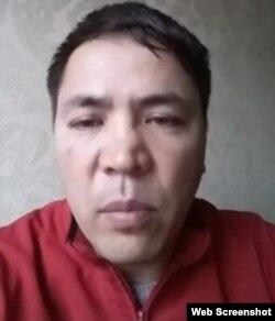 Алмат Жұмағұловтың Facebook-ке жариялаған видеосынан алынған скриншот.