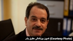 Mohammad Ali Taheri, a spiritual healer and mystic who has been wrangling with Iran's courts for eight years. Undated photo.