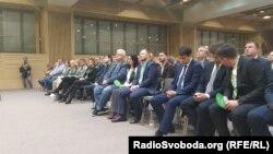 З'їзд пропрезидентської партії «Слуга народу», Київ, 10 листопада 2019 року