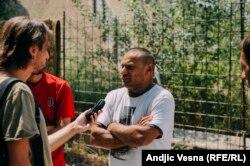 Seratim Burgazi i reporter RSE